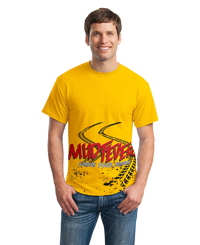 "Mudfever Men's T-Shirt ""Leave Your Mark"""