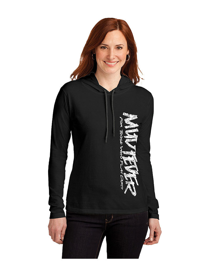 Mudfever Women's Long Sleeve (Vertical Text)