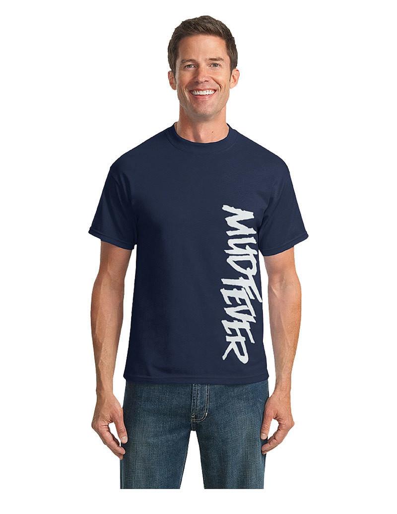 Mudfever Men's T-Shirt (Vertical Text)