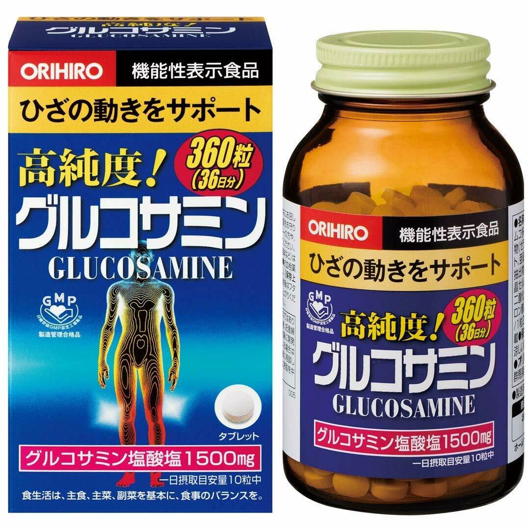 Highly-Pure Glucosamine (36 days) 360tab.