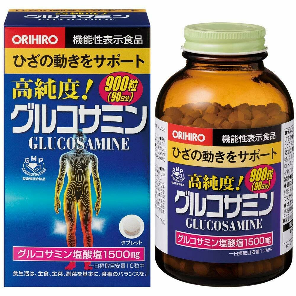 Highly-Pure Glucosamine (90 days) 900tab.