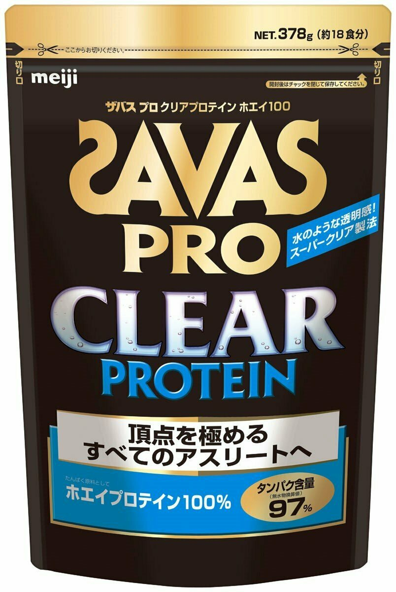 SAVAS PRO CLEAR PROTEIN Whey 100 (18 portions) 378g