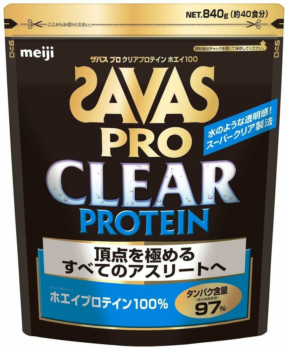 SAVAS PRO CLEAR PROTEIN Whey 100 (40 portions) 840g