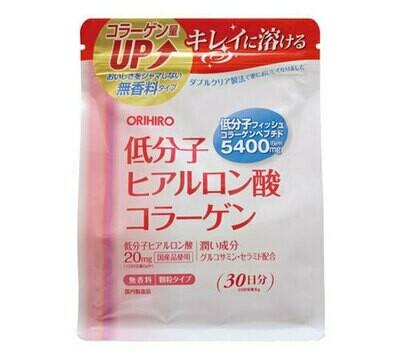 Low Molecular Hyaluronic Acid Collagen Powder 180g 1 bag.