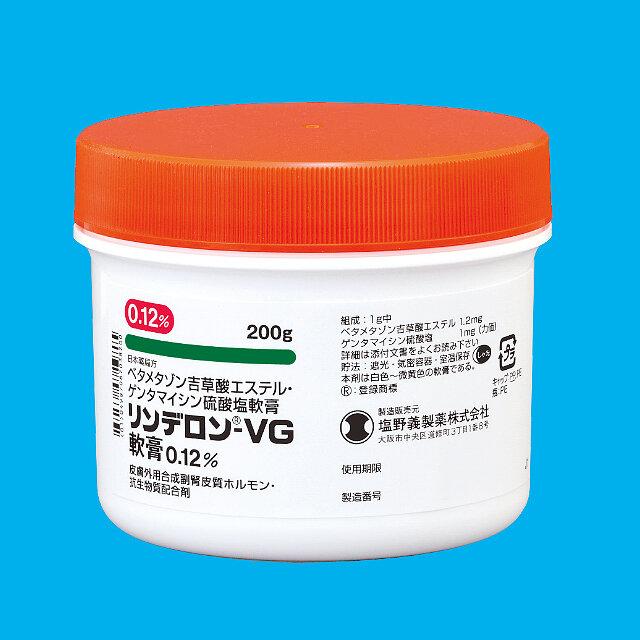 Rinderon-VG Ointment 0.12% 200g 1 vial.