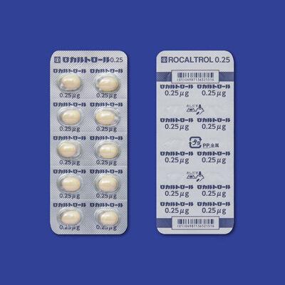 Rocaltrol 0.25 (Vitamin D3) 100cap.