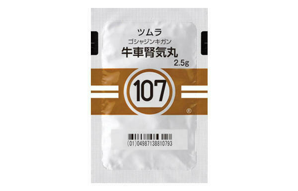 TSUMURA Goshajinkigan Extract Granules for Ethical Use 2.5g 42 pack.