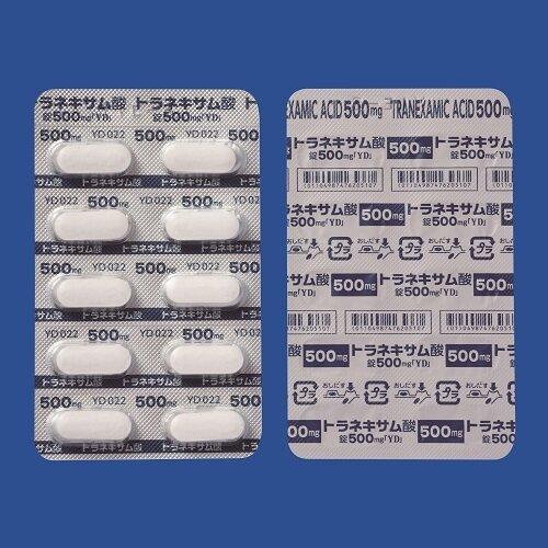 """Tranexamic Acid 500mg """"YD"""" 100tab."""