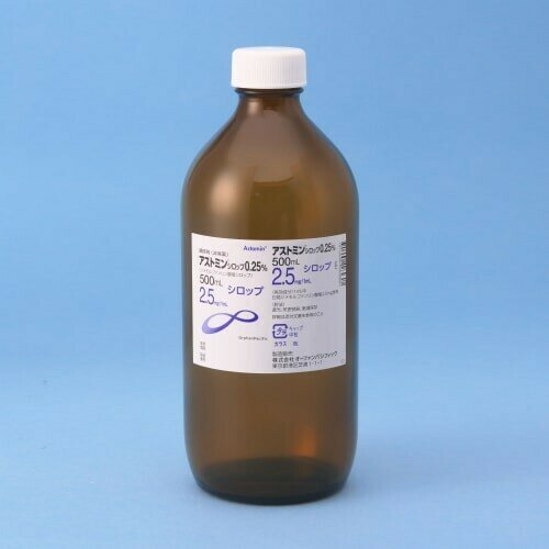 Astomin Syrup 0.25% 500ml