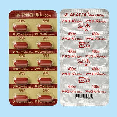 ASACOL tablets 400mg 100tab.