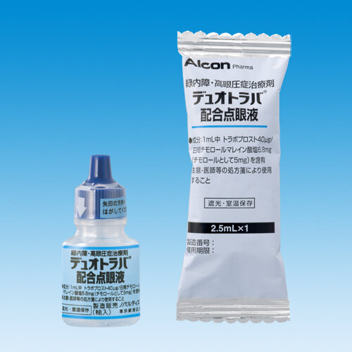 DUOTRAV Combination Ophthalmic Solution 2.5ml 5 pcs.