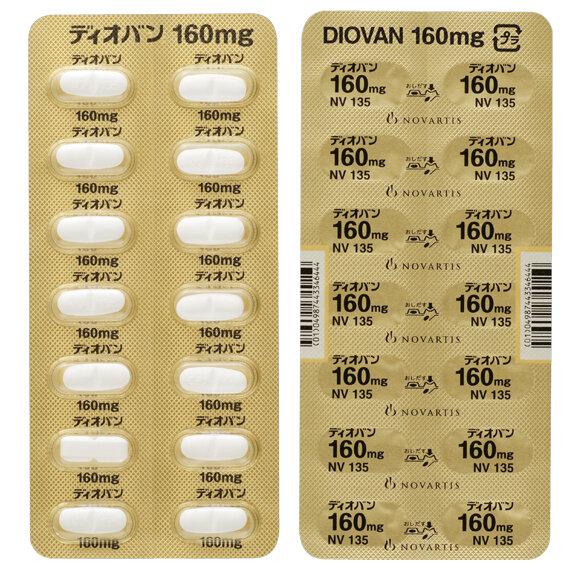 DIOVAN Tablets 160mg 140tab.