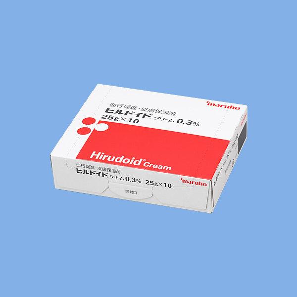 Hirudoid Cream 0.3% 25g 10 tube.