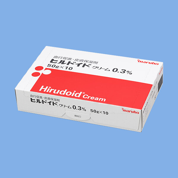 Hirudoid Cream 0.3% 50g 1 tube.