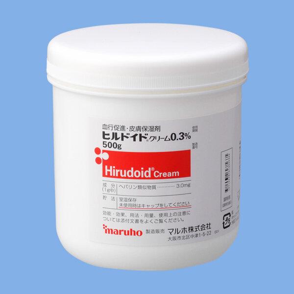 Hirudoid Cream 0.3% 500g 1 vial.