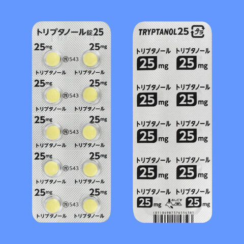 TRYPTANOL Tablets 25 100tab.