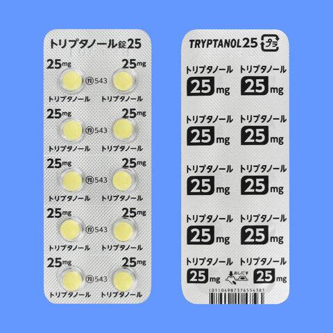 TRYPTANOL Tablets 25 1000tab.
