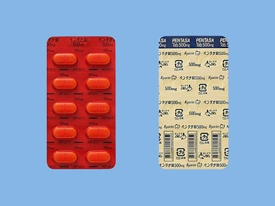 PENTASA Tablets 500mg 100tab.