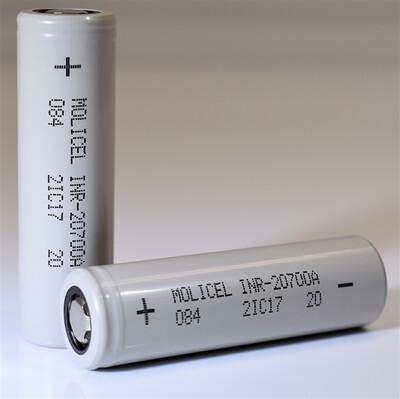 Molicel INR-20700A 3000mAh 35A Battery