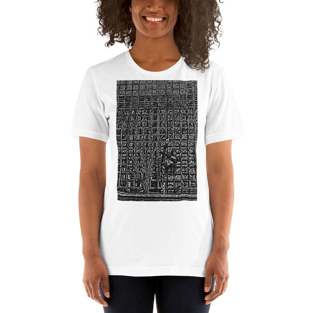 Short-Sleeve Unisex T-Shirt Tree splits