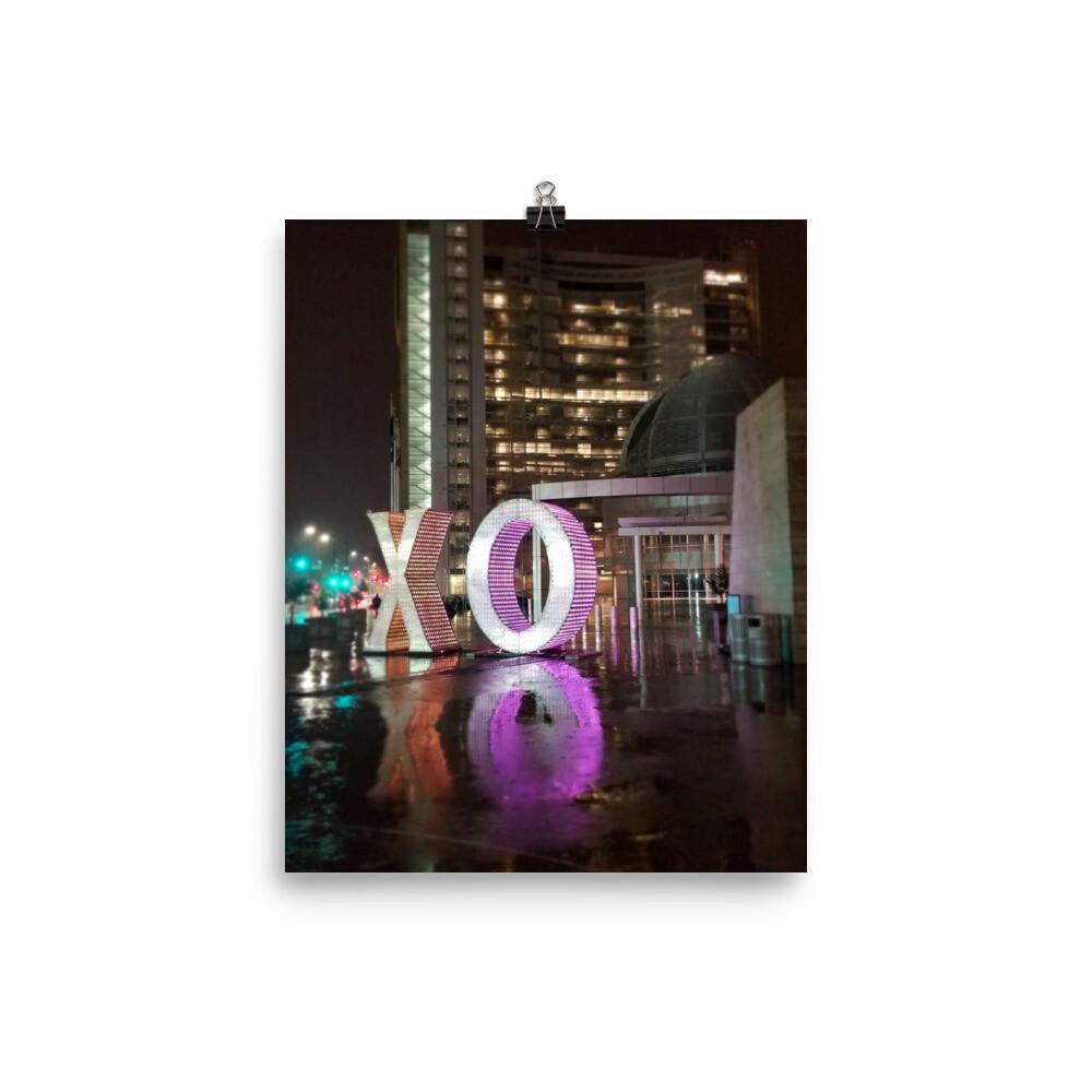 Poster XO CITY HALL