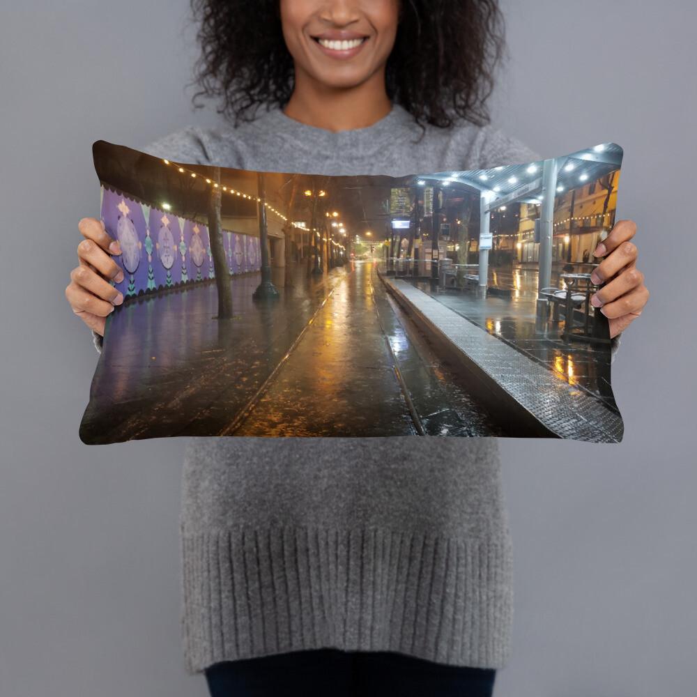 Basic Pillow SJ RAIN REFLECTIONS