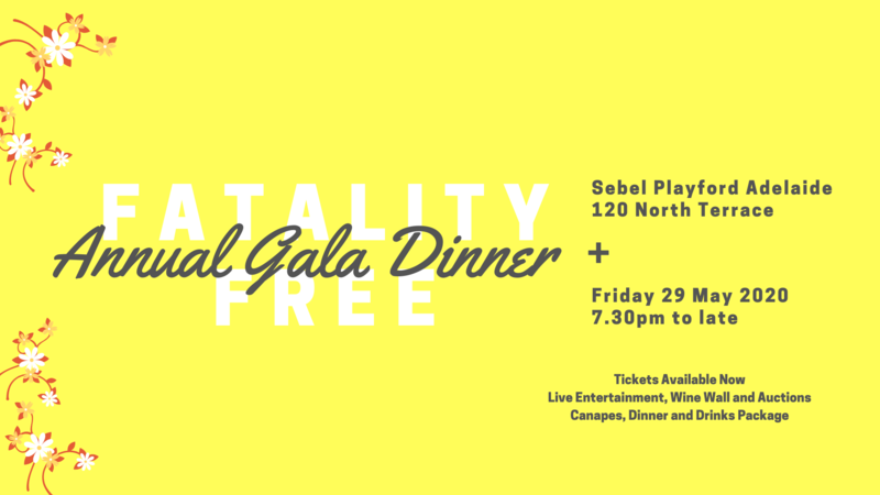Fatality Free Friday Gala Dinner