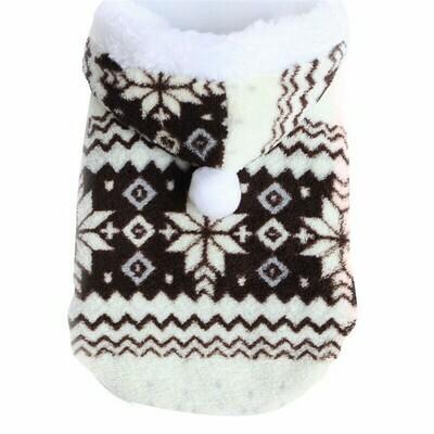 Hundemantel Schneeflocke