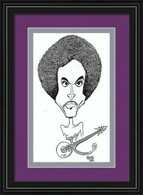 Original Prince Caricature by Michael Hopkins