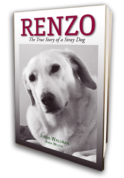 Renzo - The True Story of a Stray Dog Book