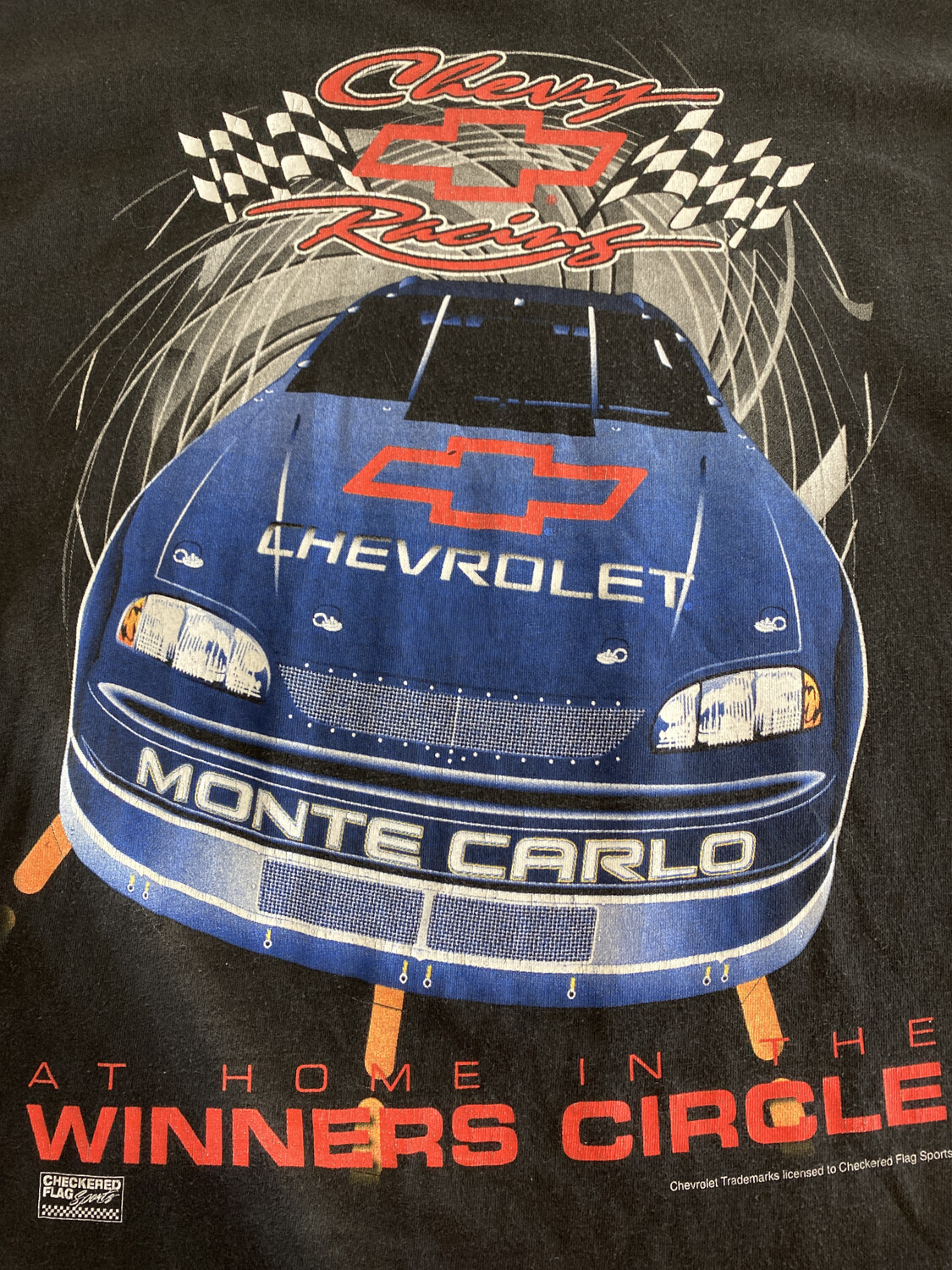 Chevy Racing Tee. SIZE: XL