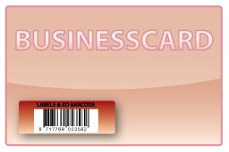 Barcode-etiket, 13 x 38 mm