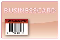 Barcode-etiket, 24 x 35 mm