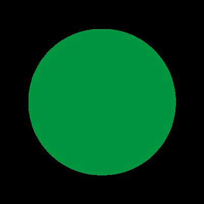 Triage etiket GROEN, 53 mm op rol