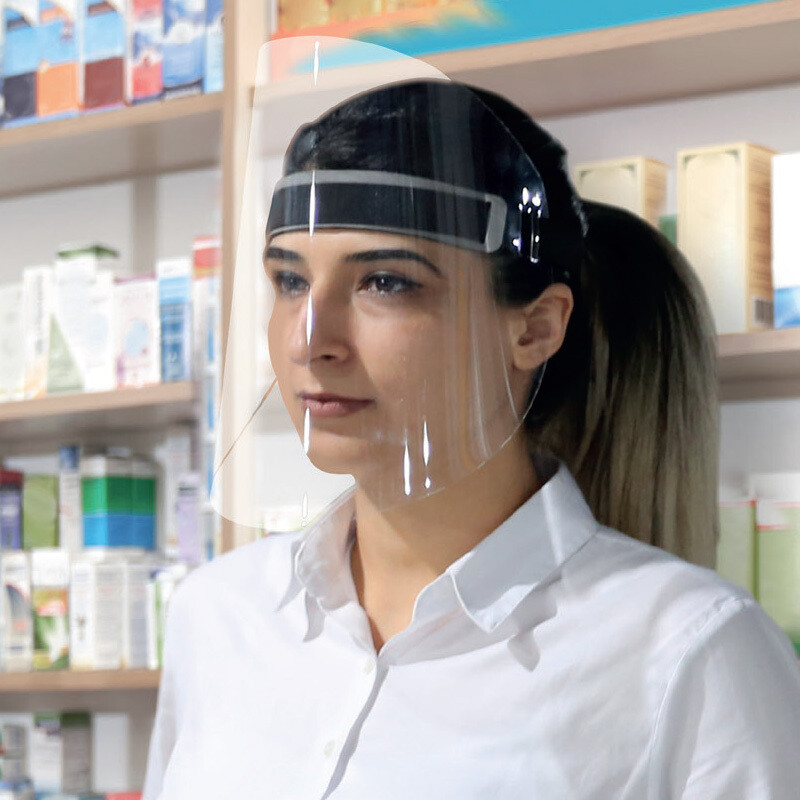 Hygiënemasker (faceshield)