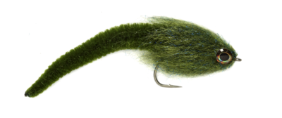 Mini Dragon Tail Olive 2/0