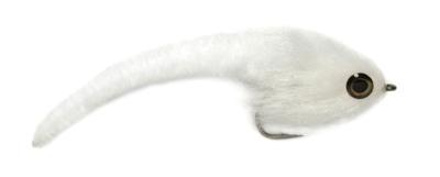 Mini Dragon Tail White 2/0