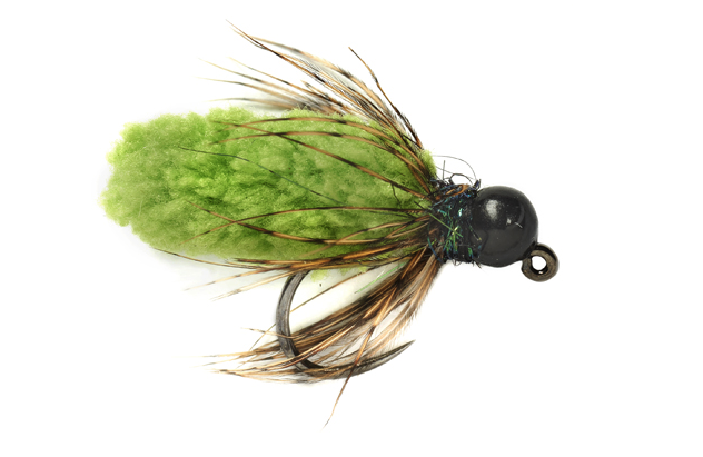 Tungsten Jig Mop Fly #14