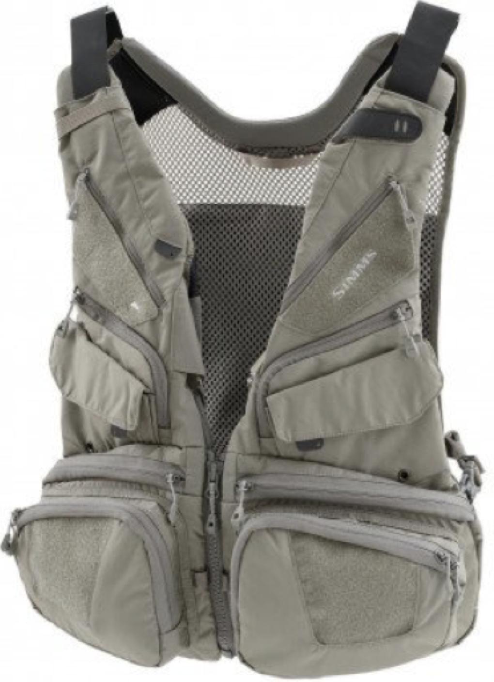 Simms Waypoints Vest Convertible - Greystone