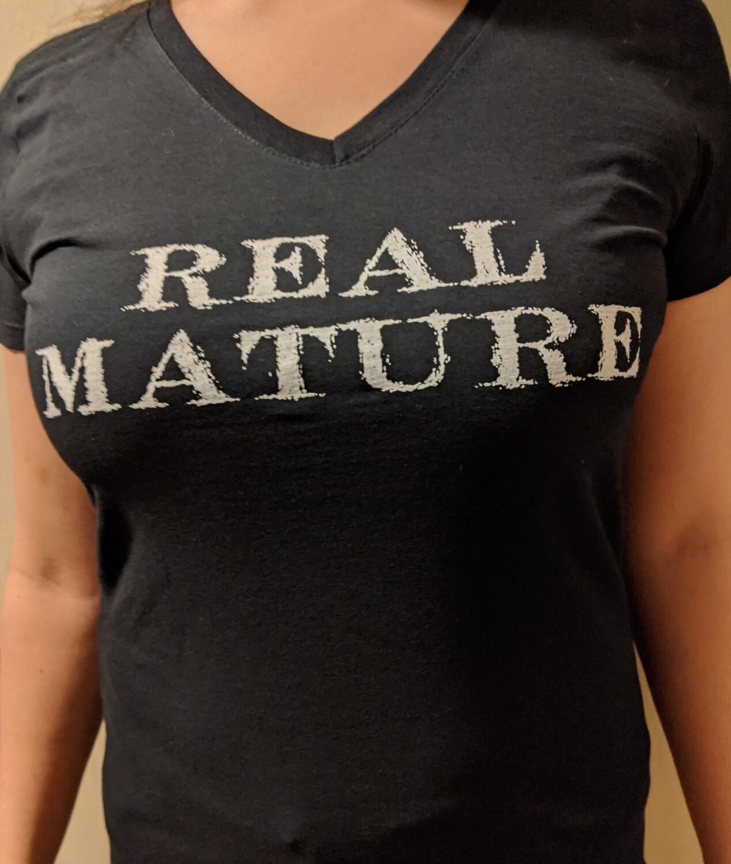 Real Mature - V-neck (women's sizes)
