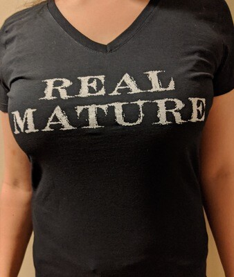 Real Mature - V-neck (women's sizes)