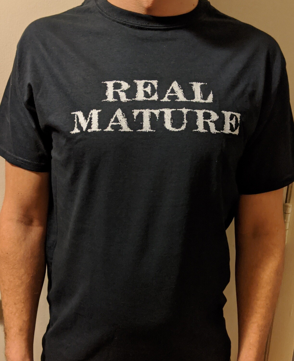 Real Mature - Crew Neck (Men's Sizes)