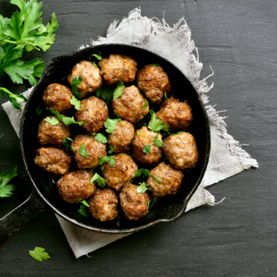Turkey Meatballs*