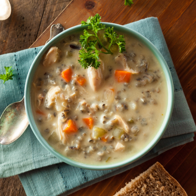 Chicken & Wild Rice Soup*