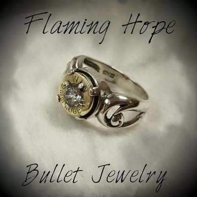 Bullet Casing Sterling Silver Ring