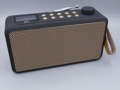 Radio DAB+/FM/Speaker schwarz/weiss