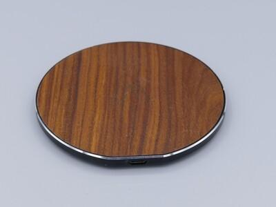 Ladegerät Handy Holz