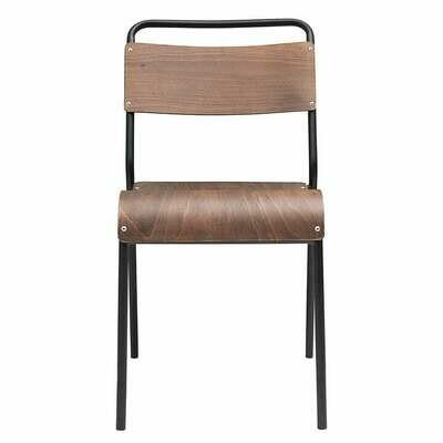 Stuhl Holz/Eisen