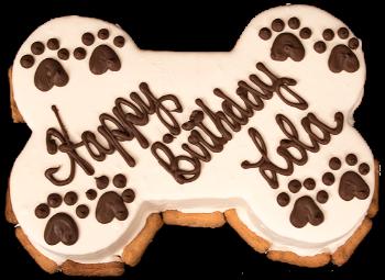 PDP Bone Birthday Cake