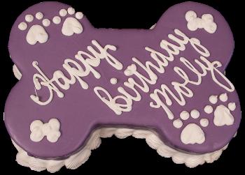 Barkery Bone Birthday Cake